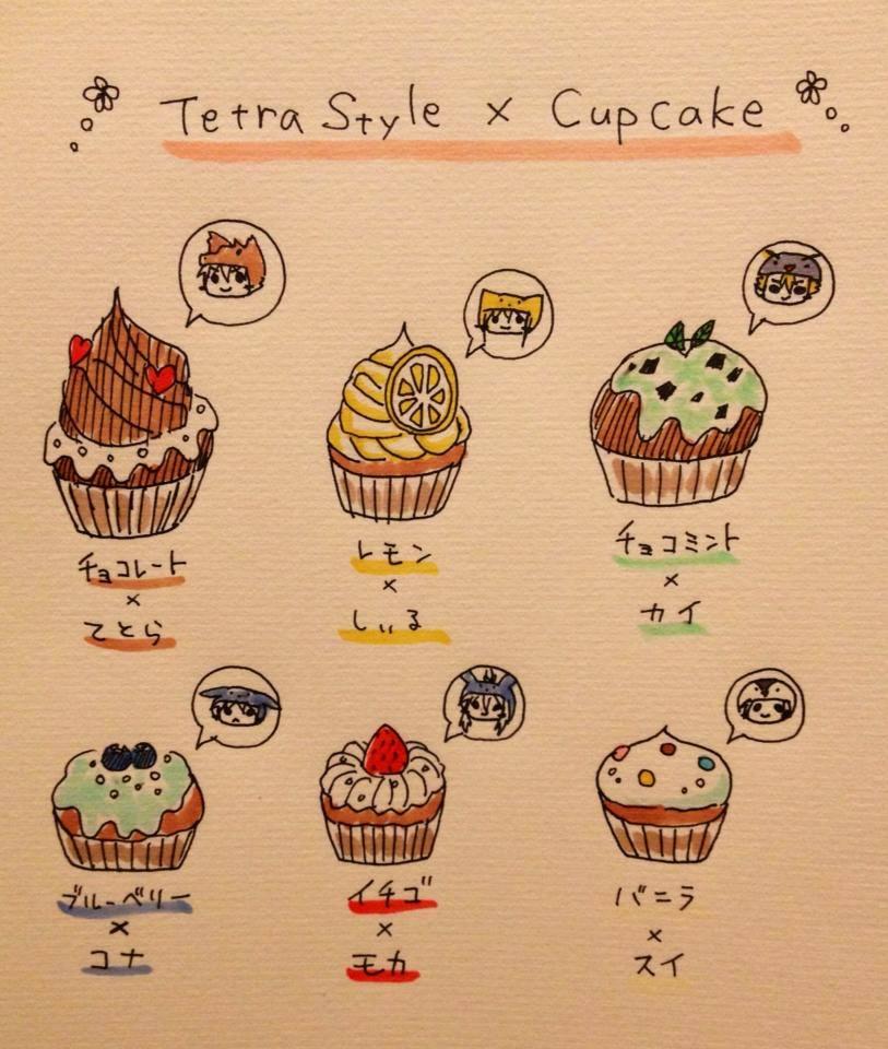 Tetra Style×Cupcake