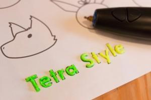 3Doodlerを試してみた(Tetra Style)