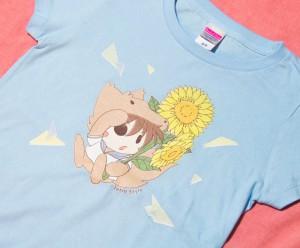 Tetra Style Tシャツ(ひまわり)