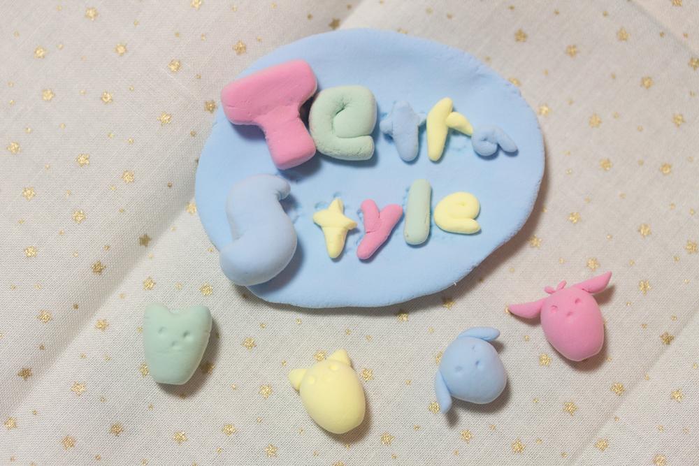 紙粘土(Tetra Style)