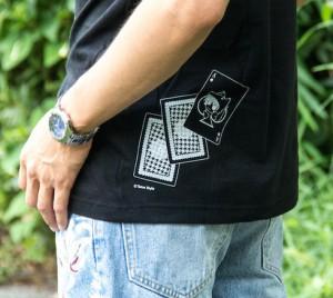 Tetra Style スペード柄てとらTシャツ(背面)