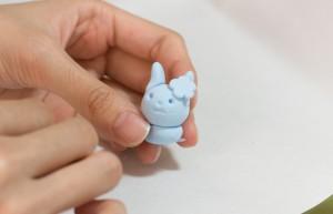 かわいいうさぎ 紙粘土(Tetra Style)