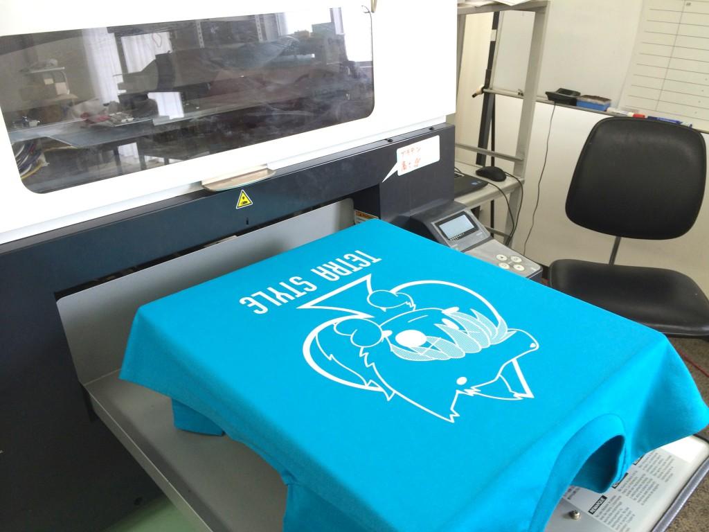brother GT-3 ガーメントプリンタでTシャツ制作