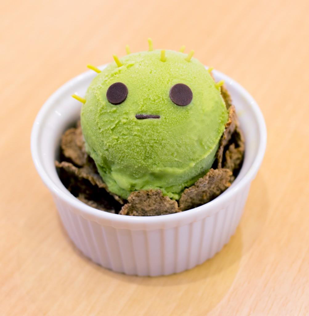 さぼってんの抹茶アイスクリーム