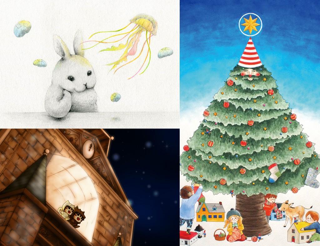 かわいい森のクリスマス展