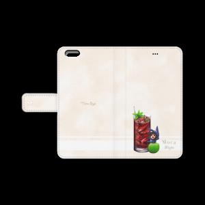 モカの手帳型iPhoneカバー