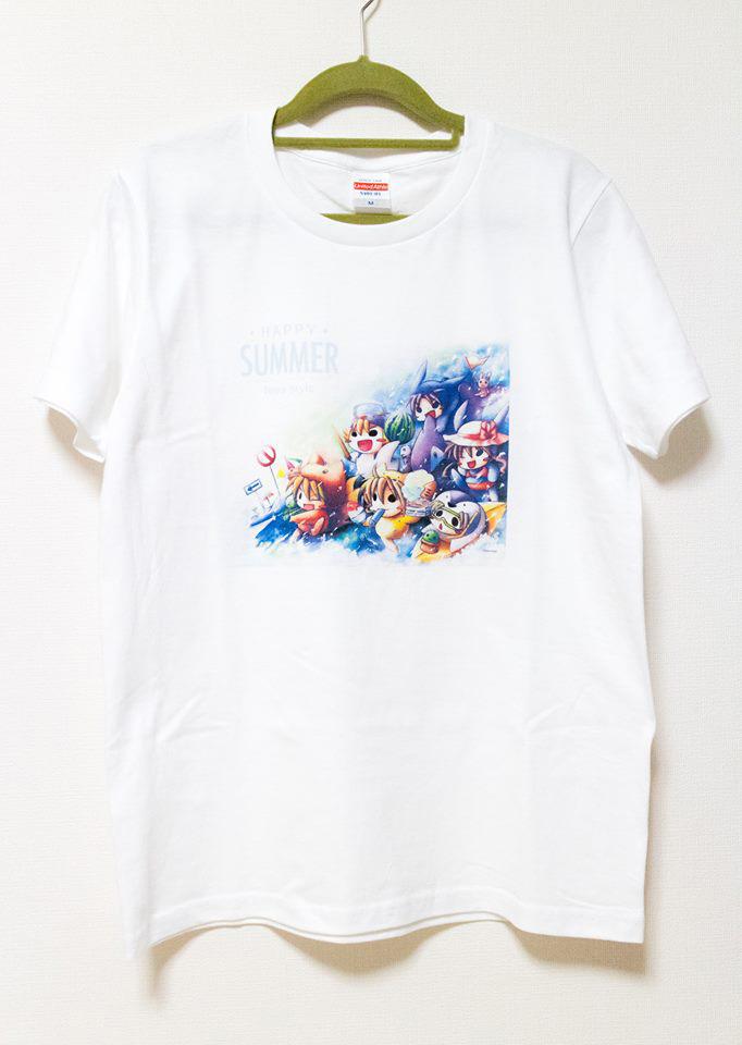 ハッピーサマーTシャツ