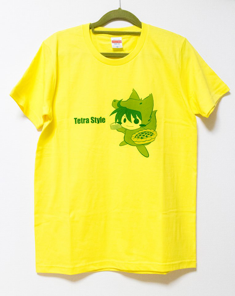 てとらのスポーティーTシャツ