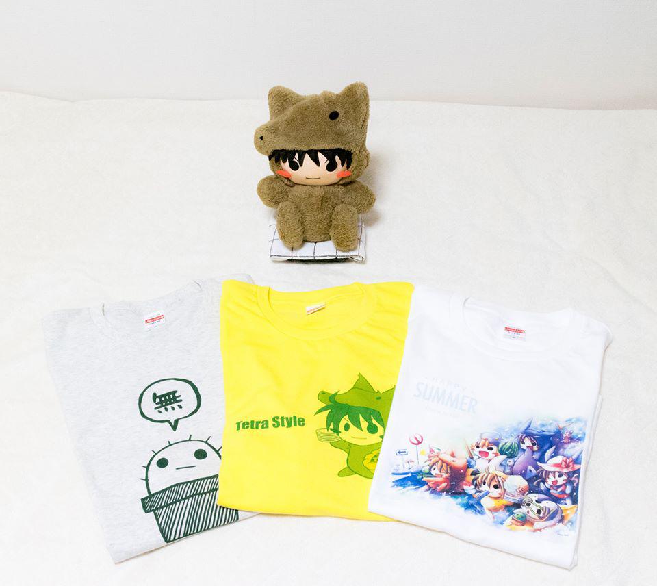 Tシャツ3種